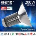 Ul led alta luz de la bahía 200 W / lámpara de techo industrial / lámpara de halogenuro metálico precio