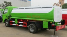 Dongfeng DLK Fuel Delivery Trucks 8000Litres Fuel Tank Trucks With Dispenser For Sales