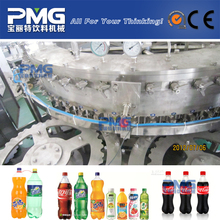 PMG-DCGF60-60-15 3-in-1 Automatic PET bottle soft energy drink filing machine