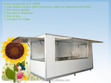 Jancole New Style, 2014 New!! JC-4400A New condition and food, snack and others you want application factory supply tricycle foo