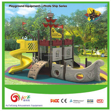Popular Outdoor Playground equipment - Pirate ship series