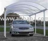 Garage Summer hut Plant house Play pen with Polycarbonate Transparent roof
