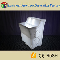 Commercial removable bar counter/LED bar counter with top groove ice bucket