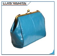 wholesale blue leather designer handbags online