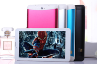 2015 the portable dual 2 sim card 7inch nfc tablet with GPS free shipping