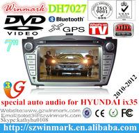 car DVD player for Hyundai IX35 2010 2011 2012 touch screen CD Video CD Mp3 MP4 JPEG etc DH7027
