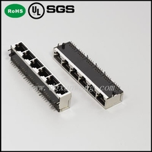 Widely Used Pitch1.27 10pin Waterproof RJ45 Connector