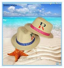 wholesale price children's hat cowboy jazz straw hats