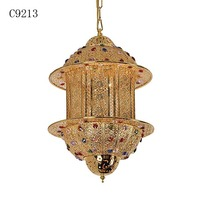 C9213 water beads wedding centerpiece, crystal chandelier frame, arabic wall light
