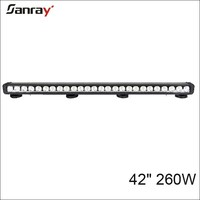 "China factory wholesale for 4x4 vehicles utv atv 42"" 12v off road led bar"