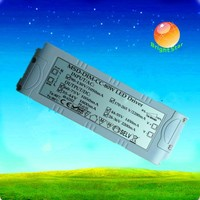 Current constant dimmable triac led driver 80w with high PFC function