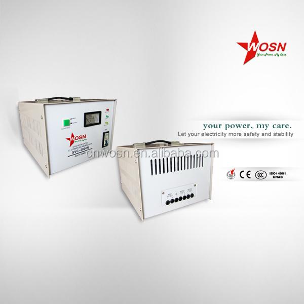 Single Phase 2kva Servo Motor Control Voltage Stabilizer