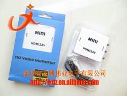 HDMI to AV mini converter RCA to HDMI adaptor HDMI2AV