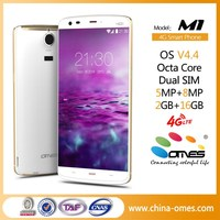 OEM HIgh Quality M1 5.5 inch MT6752 64bit Android 5.0 Lollipop 4G lte smartphone octa-core