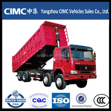 HOWO heavy duty 10 wheeler 371hp dump truck on sale