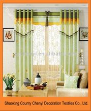 100%polyester curtains and draperies