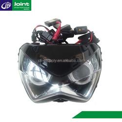 Motorcycle Angel and Demon Eye HID Headlight for Kawasaki Z250/Z800