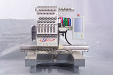 High Speed Computerised 1 head cap shirt computerized quilting embroidery machine