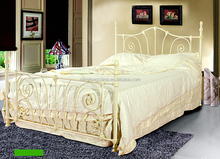 White brush old color antique home furniture bed