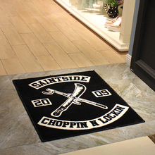 Anti-slip Commercial Hotel Rubber Door Logo Mats Made in China