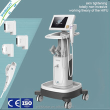 2015 high intensity focused ultrasound HIFU machine for face lift