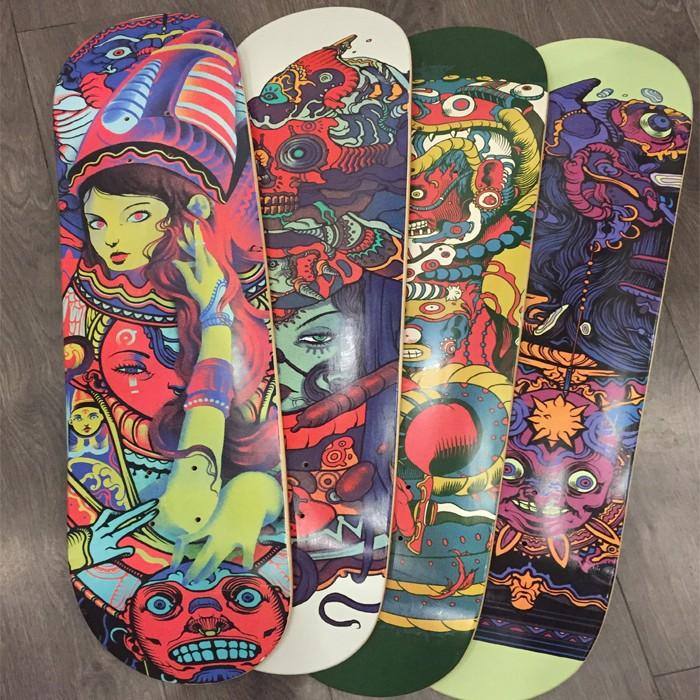 Tipo e 100% de Bordo Canadense skate Material de bordo canadense skate