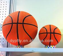 small orange rubber basketball size 3#