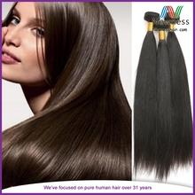High quality virgin 8inch black straight russian double drawn hair