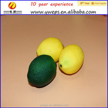 YIWU artificial fruit / artificial lemon for decoration