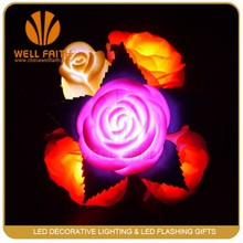 Fantastic artificial led flowers,Valentines day gifts rose light