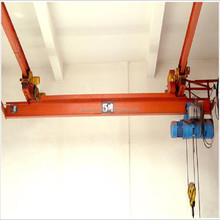 LX Model Electric Single Girder Suspension Overhead/Bridge Crane