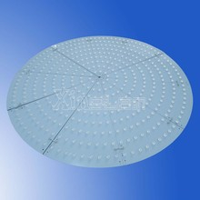 MCPCB thermal conductivity big LED panel Round shape with TV lens
