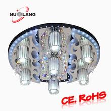 round crystal chandelier bobeche