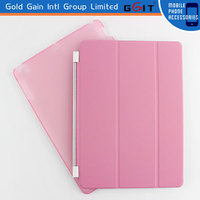 Special Design PU+PC Flip Cover Case for iPad 4, Soft Flip Cover Case of PU+PC Material For iPad 4