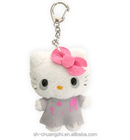 Top Custom Hello Kitty Plush keychain toy