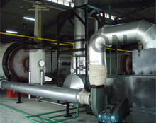 CE, ISO Certified automatic used tires to oil and carbon black waste plastic oil machine