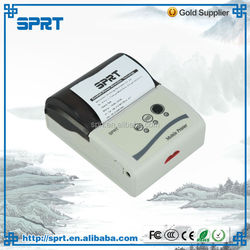 handheld testing equipment with mini 58mm handheld thermal printer machine Bluetooth
