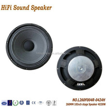 260mm 10Inch 4ohm 30W High quality 5.1 Best Home Theatre Audio Pro Stage Speaker System