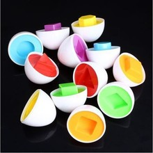 Capsule Egg Shape Blocks Toys For Children Education