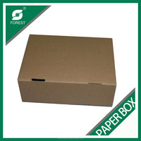 KRAFT SHIPPING BOX BLAK PRINT INSIDE