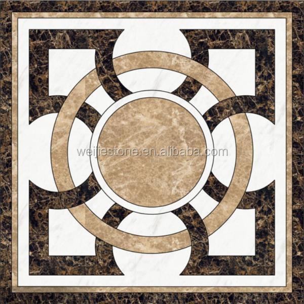 Beautiful Random Mosaic TilesModern Waterjet Flooring Design Buy