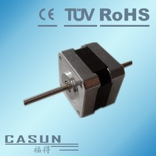 12v bipolar stepper motor casun 42SDH0001-T1 linear motor nema 17 non captive lead screw motor