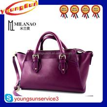 China Newest Smile Face Stylish PU Handbag Alibaba Supplier Women Bags
