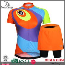 Beroy mujeres ciclismo ropa, envío gota ciclismo jersey manga corta