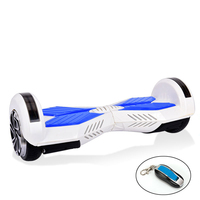 15KM/hrs hover board 2 wheels self balancing scooter with samsung battery