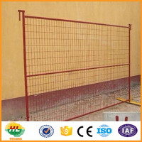 PVC canada temporary fence(supplier, Anping)