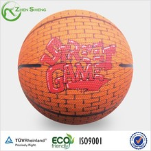 Zhensheng School Supply Children Playing Rubber Basketballs