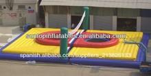 cancha de voleibol juegos inflables del deporte de alta calidad