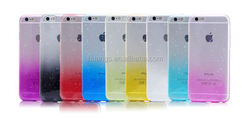 Cell phone accessory Ultra Thin Clear Crystal Gel Soft TPU Case Cover 3d water drop case for iphone 6 4.7' alibaba china