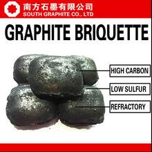 Sud grafite naturale grafite mattonella amorfo fc78% min fc 80% min